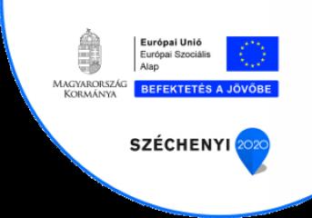 Széchenyi 2020 Európai Szociális Alap logo